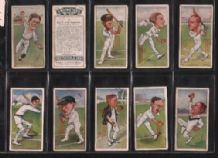 cigarette cards Cricketers caricatures by RIP 1926
